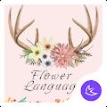 Flower\APUS Launcher theme APK for Bluestacks