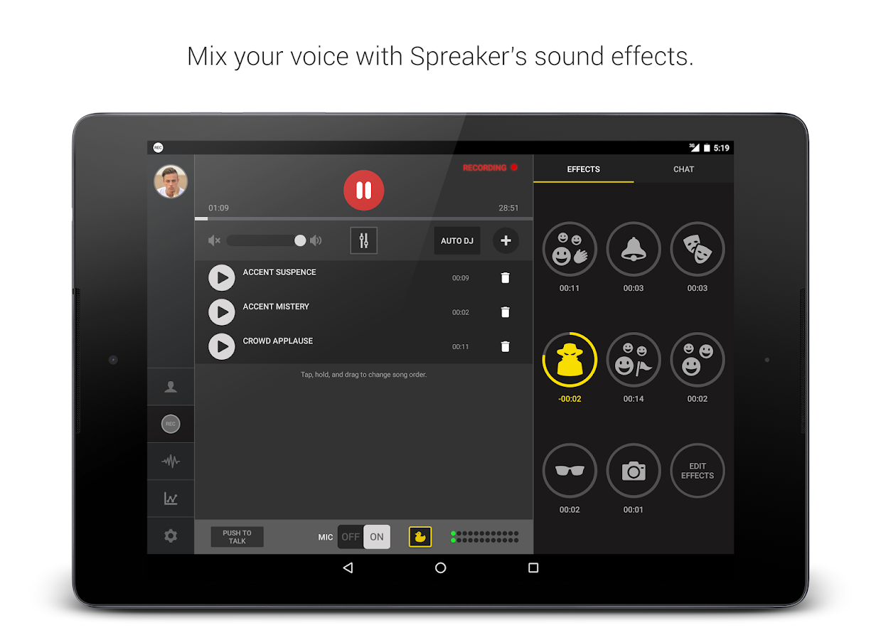 Spreaker Studio Screenshot 4