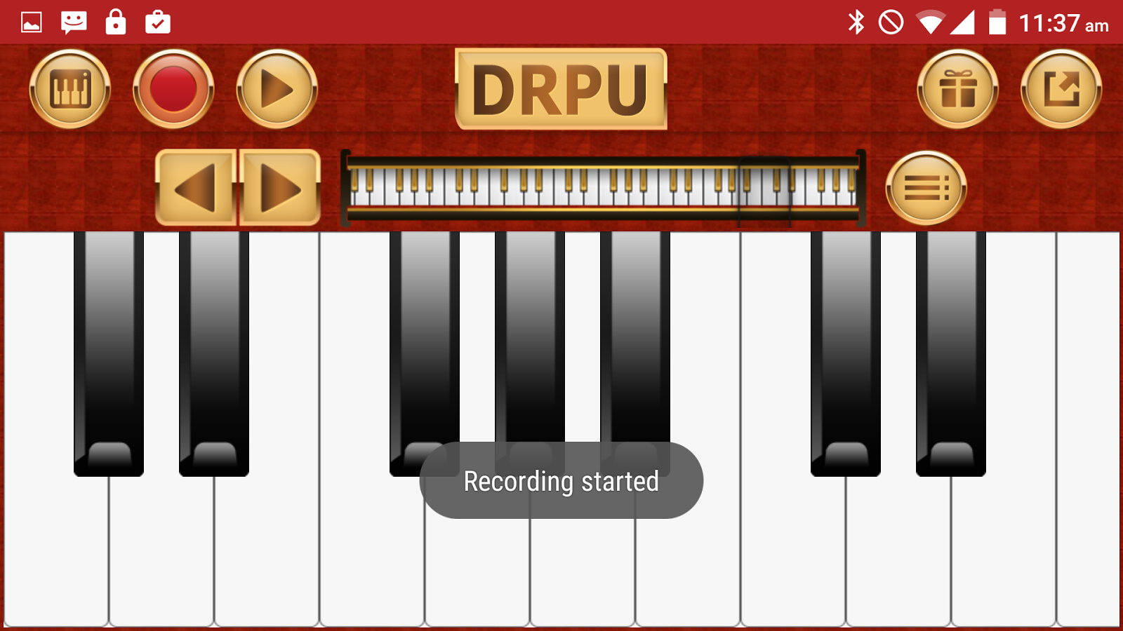 Piano Keyboard Music Pro Screenshot 4