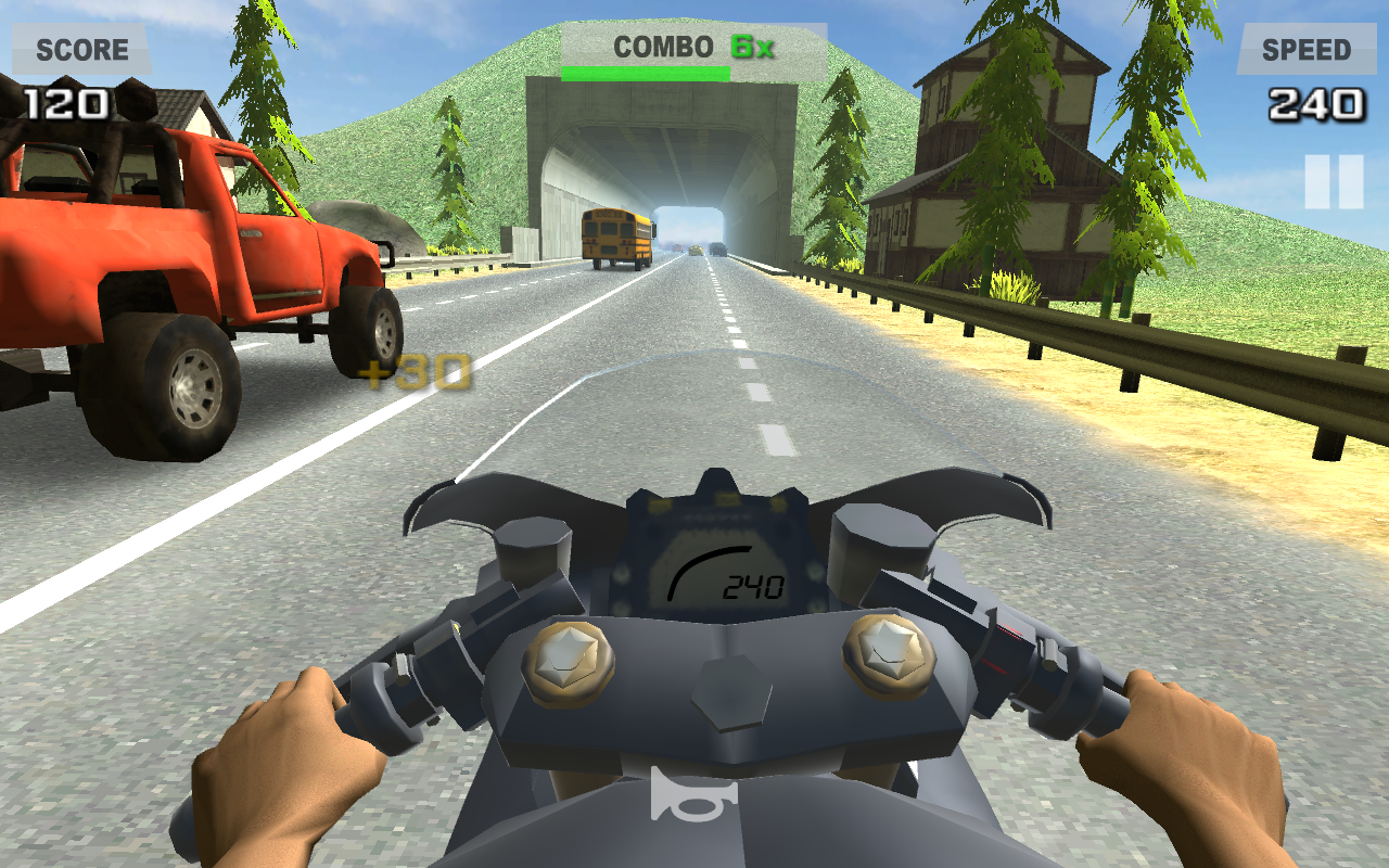 Riding in Traffic Online Screenshot 3