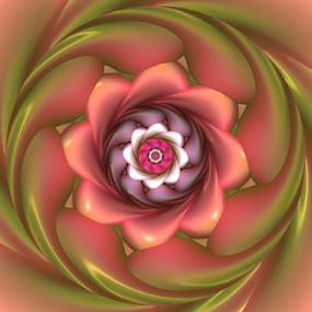 Flower 30 by Cassy 67 - Illustration Abstract & Patterns ( abstract art, digital art, bloom, harmony, flowers, fractal, digital, fractals, energy, flower )