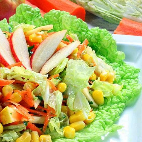Salad with Chinese cabbage