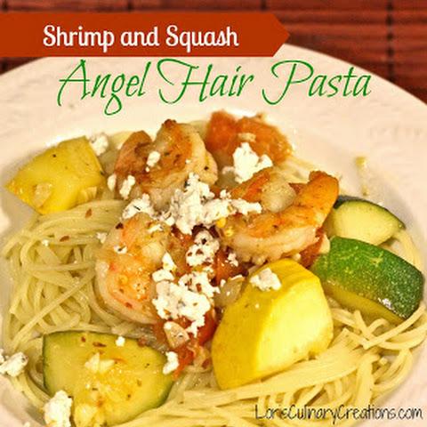shrimp pasta yellow squash recipes yummly