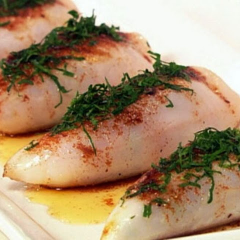 Simple and Very Tasty Stuffed Squid