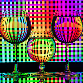 Charismatic Chromes... by Rakesh Syal - Artistic Objects Glass