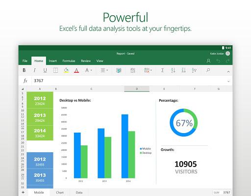 Microsoft Excel - screenshot