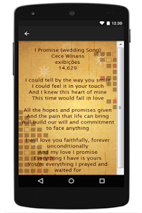 CeCe Winans Lyrics - screenshot