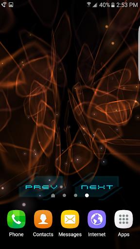 Abstract Gyro 3 3D Live WP - screenshot