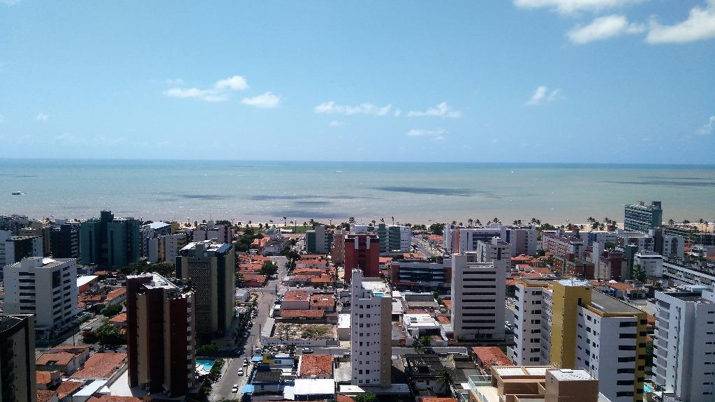 Apartamento residencial à venda, Cabo Branco, João Pessoa - AP5661.