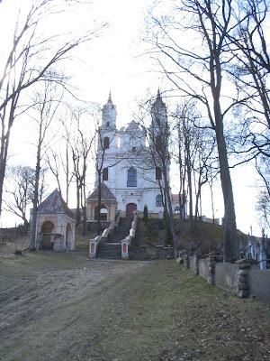 Калварийский костёл в Вильнюсе