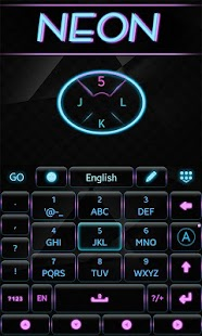 Neon-GO-Keyboard-Theme 5