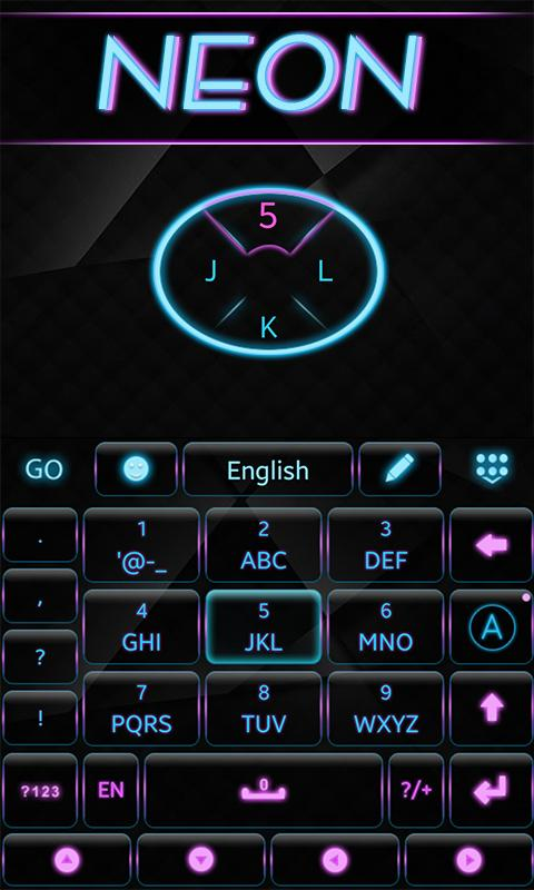 Neon-GO-Keyboard-Theme 12