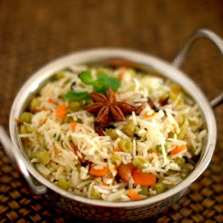 Peas And Carrot Pulao Recipes