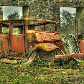 Citroen by Stuart Wilson - Transportation Automobiles ( oradour sur glane, citroen )