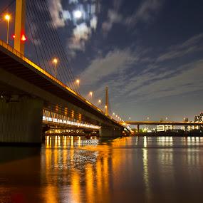 Urayasu Bridge by Ketut Pujantara - Buildings & Architecture Bridges & Suspended Structures