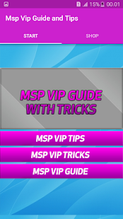 Guide and Tips for MSP Vip - screenshot