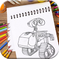 Game How To Draw Wall E APK for Kindle