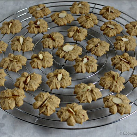 Maple Almond Spritz Cookies