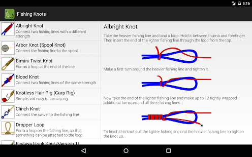 App fishing knots apk for windows phone android games for Fishing knots app