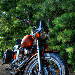 by Aaron Crider - Transportation Motorcycles