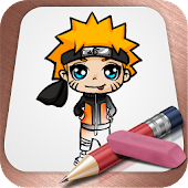 Game Drawing Lessons Naruto APK for Kindle