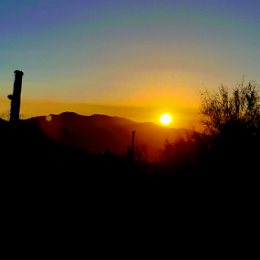 Good Morning Tucson by Tom MostlyGerman - Landscapes Sunsets & Sunrises