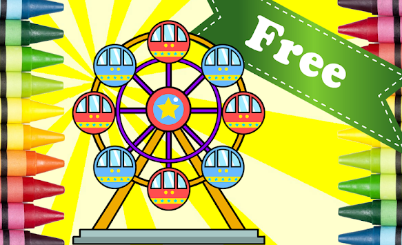 Coloring Book Amusement Park APK 103