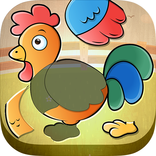 Toddler Kids puzzle - Animals (game)