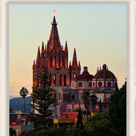 san miguel de allende, mexico by Jim Knoch - Buildings & Architecture Places of Worship