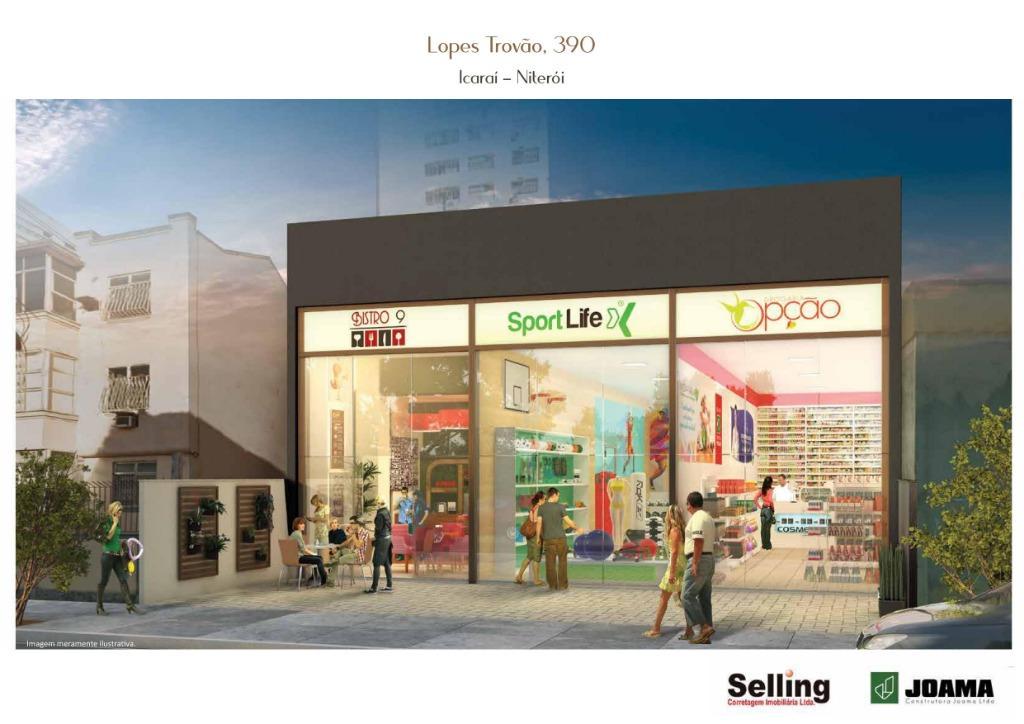 Loja para alugar, 80 m²  cada loja - Jardim Icaraí