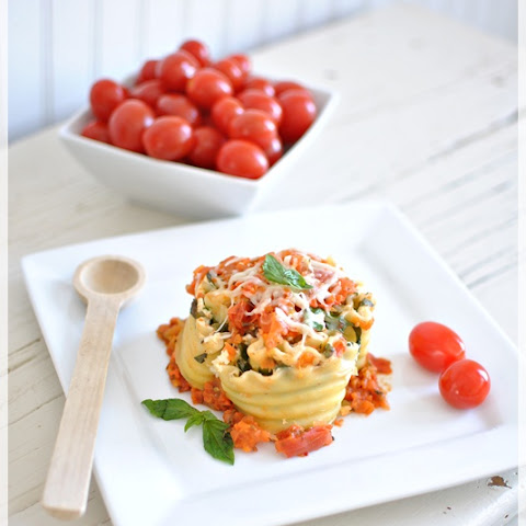 Easy Lasagna Cups for Lunch or Dinner