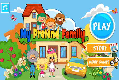 My Pretend Home & Family - Kids Play Town Games!