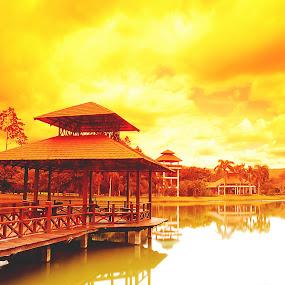 Sabah Agirculture Park, Lagud Sebrang by Mohd Fahmi Husen - Landscapes Waterscapes