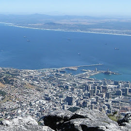 Panoramic View of Cape Town by Dennis Ng - Landscapes Travel