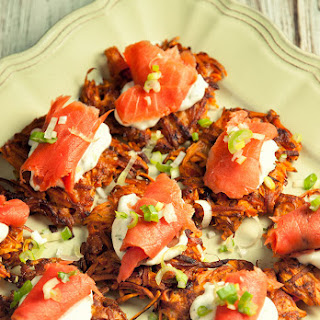 Sweet Potato Rosti With Smoked Salmon