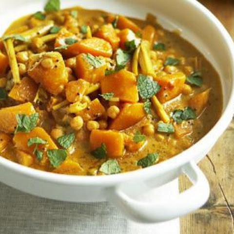 Pumpkin And Chickpea Curry Curry Recipes | Yummly