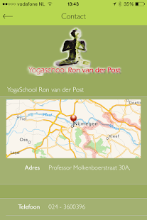 Yogastudie - screenshot