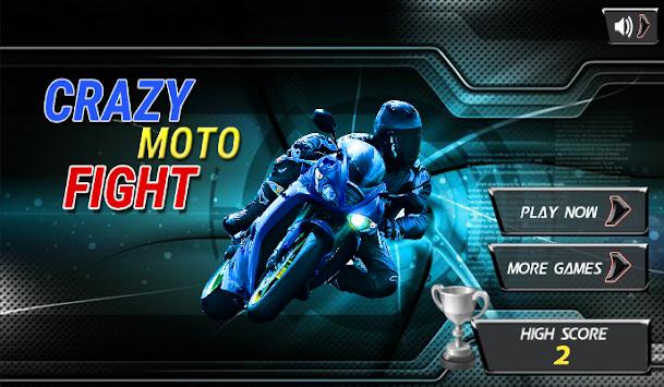 Crazy Moto Fight apk screenshot