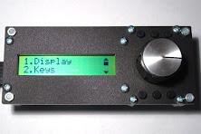 Rotary encoder keypad kit 16X2 LCD