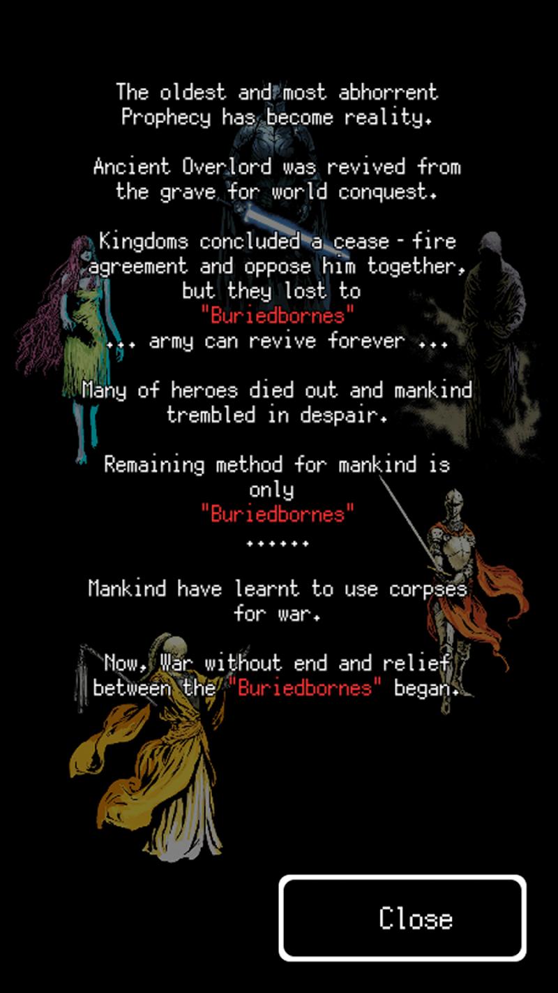 Buriedbornes -Hardcore RPG- Screenshot 3