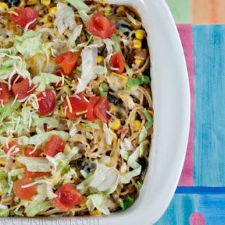 Taco Spaghetti Bake Recipes