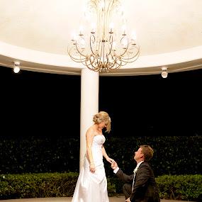 by Rebecca Stone - Wedding Bride & Groom