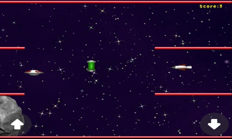 UFO-Asteroid-Run 11