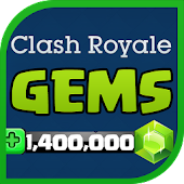 Gems for Clash Royale APK for Bluestacks