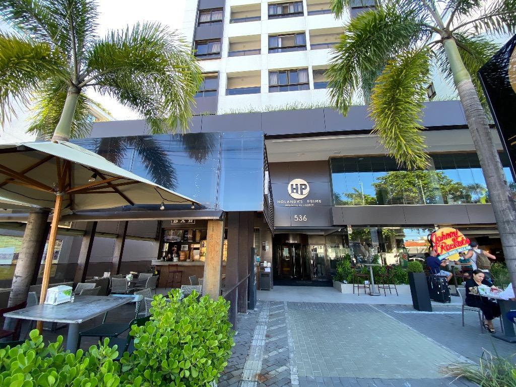 Apartamento com 1 dormitório para alugar, 71 m² por R$ 2.450/mês - Tambaú - João Pessoa/PB
