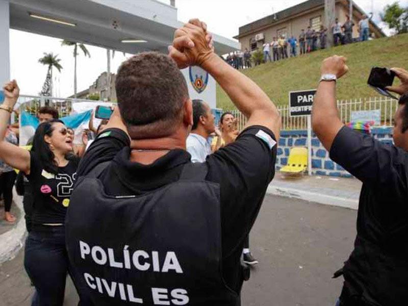 Huelga policial en estado brasileño, vigencia de un añejo problema