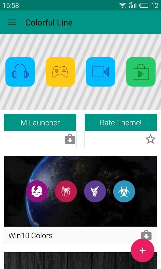 Colorful Icons Pack & Theme Screenshot 6