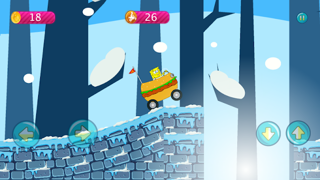 Sponge-bob Jungle Hill Climb APK screenshot thumbnail 5