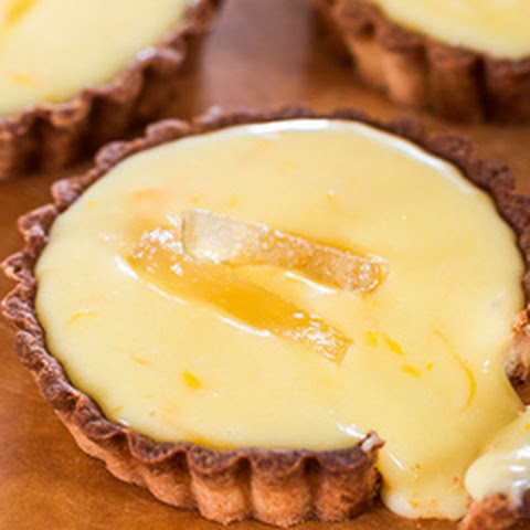 Lemon Curd Cream Cheese Pie