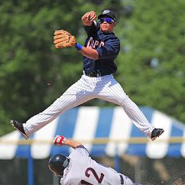 Double Play by Tom Theodore - Sports & Fitness Baseball ( baseball,  )